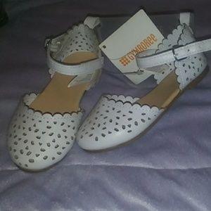White sandles